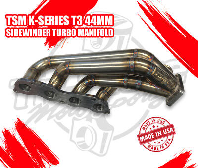 TSM Race T3 Sidewinder 44mm K-Series Turbo Manifold comprar usado  Enviando para Brazil