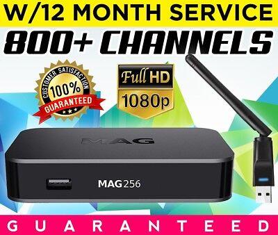MAG 256 IPTV Set Top Box W/12 MONTH SERVICE Mag254 mag 254w1