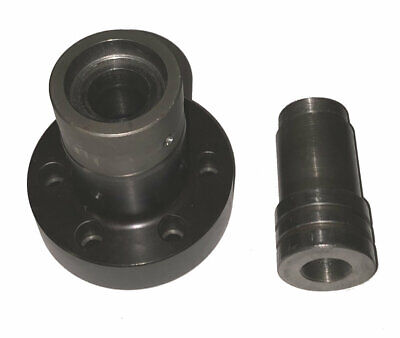 5c A2-5 Spindle Nose Piece Collet Chuck W Hardinge Step Chuck Closer