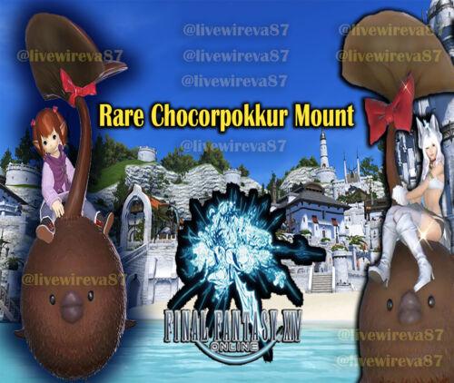Final Fantasy XIV OFFICIAL ONLINE CHOCORPOKKUR MOUNT DLC Code!
