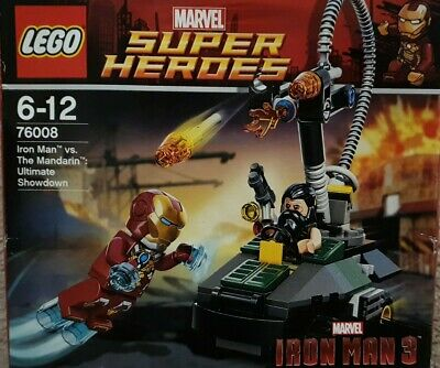 LEGO Marvel Heroes #76008 SH074 The Mandarin - NEW