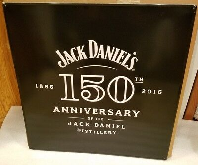 Jack Daniels 150th Anniversary Tin Collectible Sign for sale  Shipping to Canada