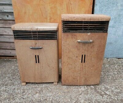 2 Vintage Valor Paraffin Heaters, 12D And 12E