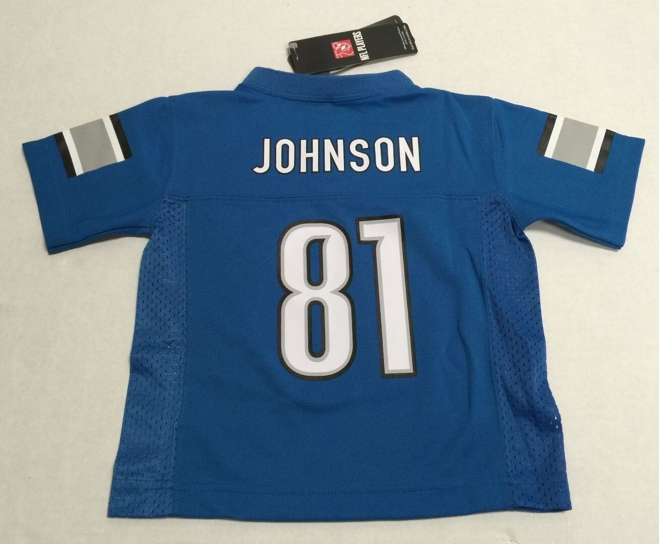 Cheap Detroit Lions Calvin Johnson 81 Official NFL Youth infant Toddler  free shipping