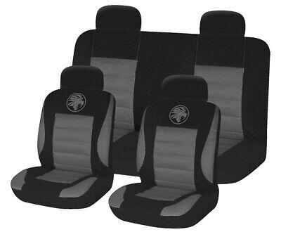 8pc Universal Car Seat Covers Set Protectors Washable Dog Pet Front Rear Black