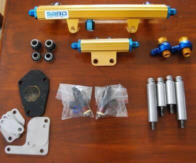 RX7 FD3S SARD fuel rail kit + injectors + block off plates