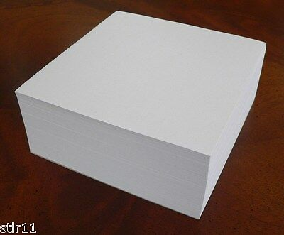 Note Paper Refill Cube - 5 X 5- Padded On 1 Side Great For Deskpaper Holder