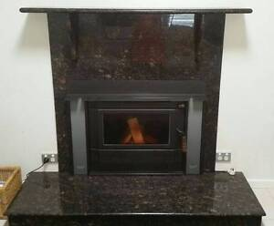 Black Marble Fireplace Surround Palmview Maroochydore Area Preview