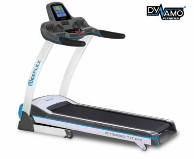 NEW REEPLEX TITAN TREADMILL Heavy Duty Treadmill 150kg RATING Malaga Swan Area Preview