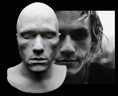 I Am Heath Ledger Life Mask Lifecast Bust Dark Knight Joker Hot Toys