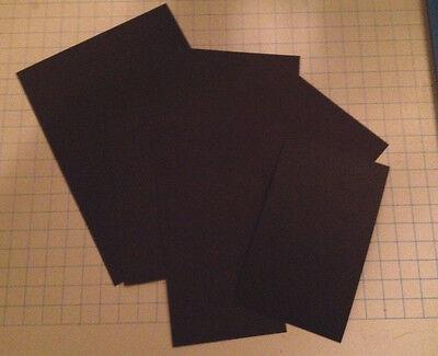 Black Card Stock (110lb. Black CardStock Choose Size, Choose)