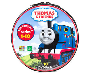 THOMAS THE TANK ENGINE & FRIENDS - Complete Series 1 to 10  DVD (NEW & SEALED)
