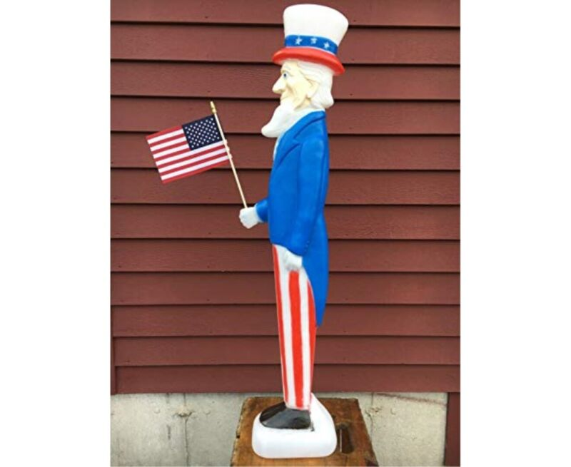 union uncle sam blow mold new