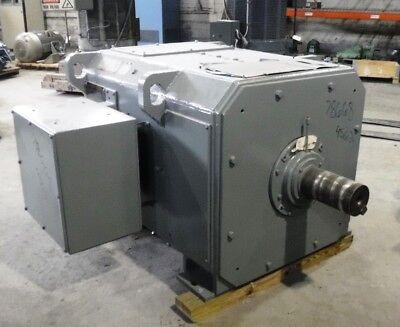 500 Hp Dc General Electric Motor 650 Rpm 4562 Frame Dpfv 500 V