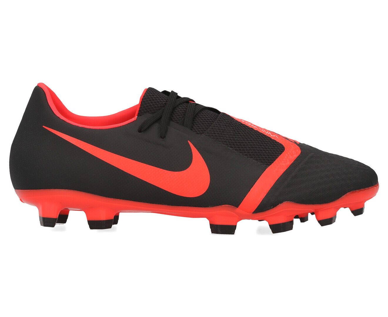 Nike Men's Phantom Venom Academy FG Football Boot BlackBright Crimson AA494