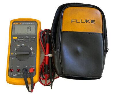Fluke 87-v Digital Industrial Multimeter W Soft Case