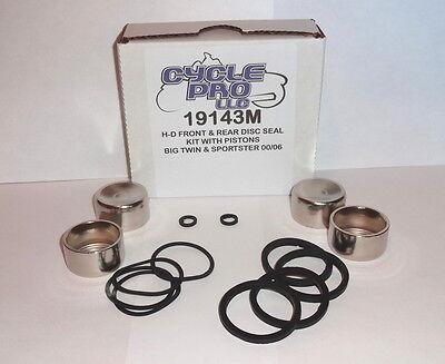 (Harley Davidson K&L Brake Caliper Piston Seal Rebuild Kit K&L # 32-0274)