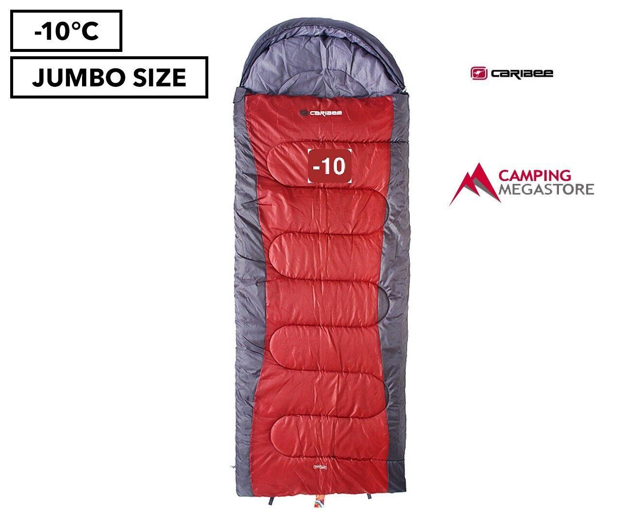 CARIBEE SNOWDRIFT JUMBO 10 DEGREES SLEEPING BAG