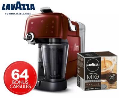 ☕Lavazza LMA7000 Fantasia 1200W Coffee Machine BRAND NEW Ruby Red