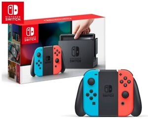 Nintendo Switch Console - Red and Blue Color