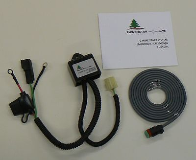 Eu65w2 Remote Start Two-wire Control For Honda Eu6500is Em5000isem7000is