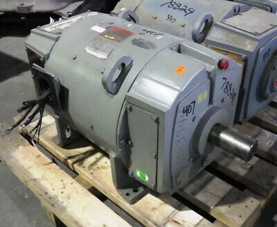 75 Hp Dc General Electric Motor 1150 Rpm 407at Frame Dpfv 500 V