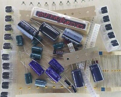 100 Pcs - Capacitors - Electrical Component Grab Bag Assortment Diy Or Arduino