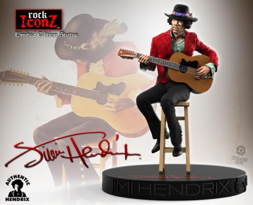 Jimi Hendrix II Rock Iconz™ Statue Direct from KnuckleBonz