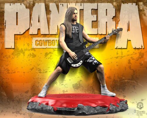 Pantera Rex Brown Rock Iconz™ Statue Direct from KnuckleBonz