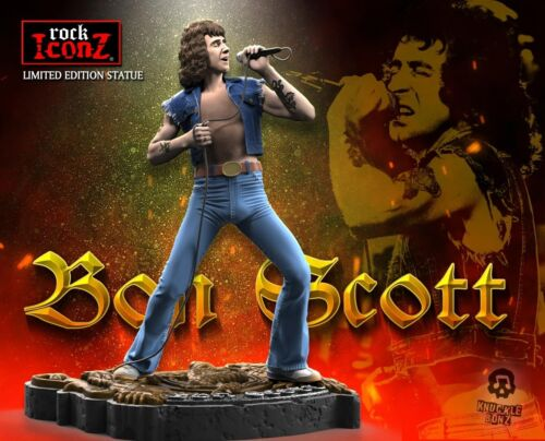 Bon Scott Rock Iconz™ Statue Direct from KnuckleBonz
