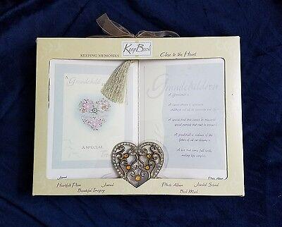 Grandchild Keepsake box book by keep book photo album jewel stand journal