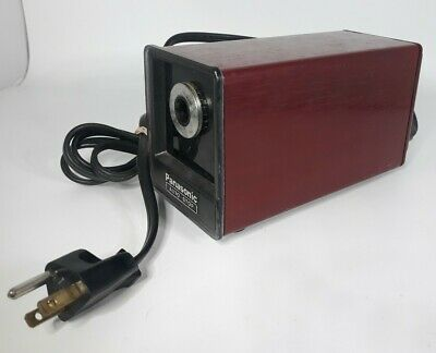 Vintage Panasonic Electric Pencil Sharpener Kp-77 Auto-stop W Suction Cup Feet