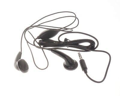 Alcatel 3.5MM Neu Handsfree Headset mit Mikrofon Universal Schwarz CCB3000A12C2 3 Hands Free-headset