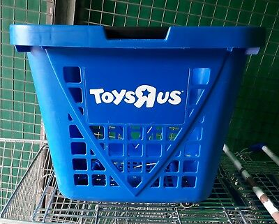 Plastic Rolling Shopping Trolley Basket On Wheels For Shops Supermarkets