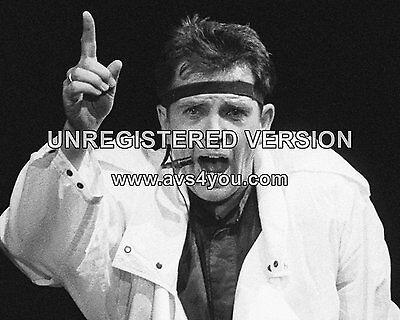 "Peter Gabriel 10"" x 8"" Photograph no 7"