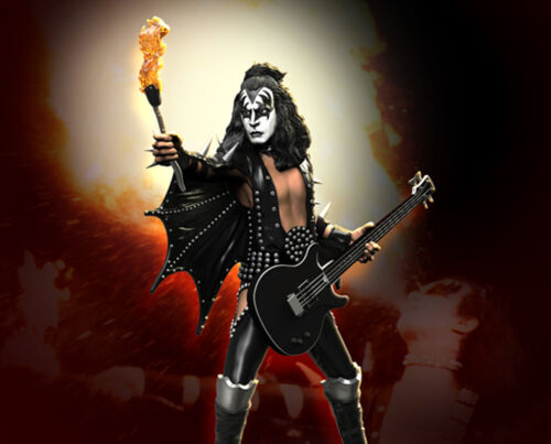 KISS The Demon (ALIVE!) Rock Iconz™ Statue Direct from KnuckleBonz