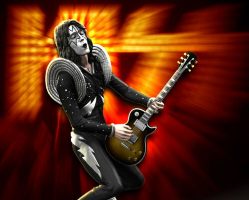KISS The Spaceman (ALIVE!) Rock Iconz™ Statue Direct from KnuckleBonz