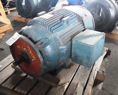 60 Hp General Electric Motor 900 Rpm L405hp16 Frame Tefc 575 V Vss