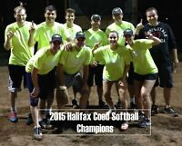 Looking for softball team in Sackville or bedford