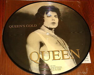 QUEEN-QUEENS-GOLD-DOUBLE-PICTURE-DISC-10-INCH