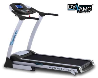 Reeplex Atlas Treadmill 47cm X 141cm belt 2.0chp - 3.45hp Motor Malaga Swan Area Preview