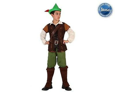 Costume Robin Hood bambino tg. 7/9 anni. Atosa 070405 Costume Carnevale Bambino