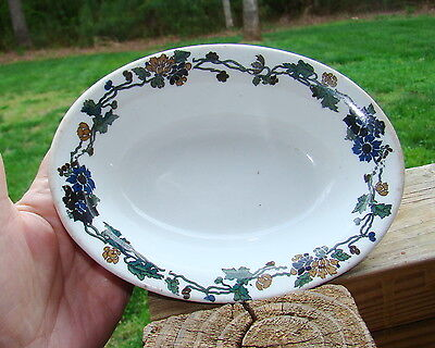 Shenango Restaurant Floral Oval Bowl New Castle, PA   B.B.  on Rummage