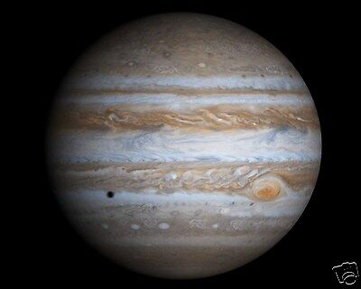 Planet Jupiter Outer Space NASA Astronomy 8 x 10 Photo Picture