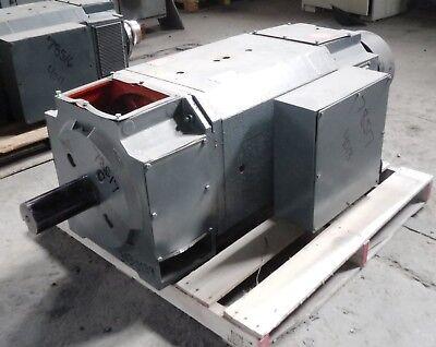 50 HP DC Reliance Electric Motor, 400 RPM, MC4013ATZ Frame, DPFV, 500 V,2 Shafts