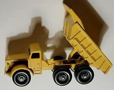 1960's Matchbox Euclid Dump Truck #6 Lesney Toy!!