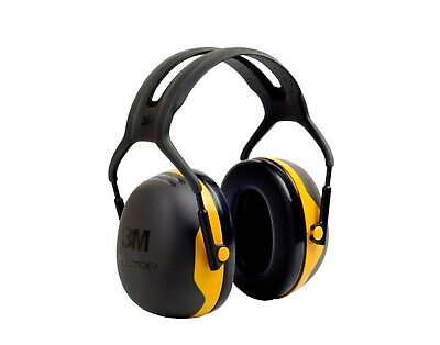 3m Peltor X Series X2a Blackyellow Over Head Foam Protective Earmuffs - 24 Db