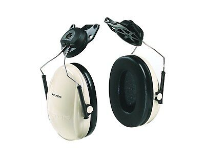 3m Peltor Optime Cap-mounted Ear Muffs Beigeblack Nrr 21