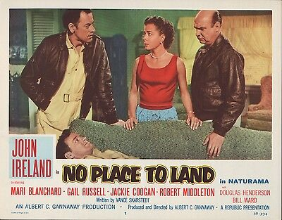 No Place to Land 1958 11x14 Lobby Card #7