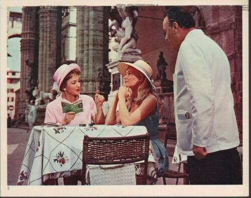 Light in the Piazza 1962 8x10 color movie still photo #5